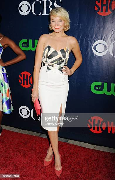 Actress Malin Akerman arrives at the CBS CW And Showtime 2015 Summer TCA Party at Pacific Design Center on August 10 2015 in West Hollywood California