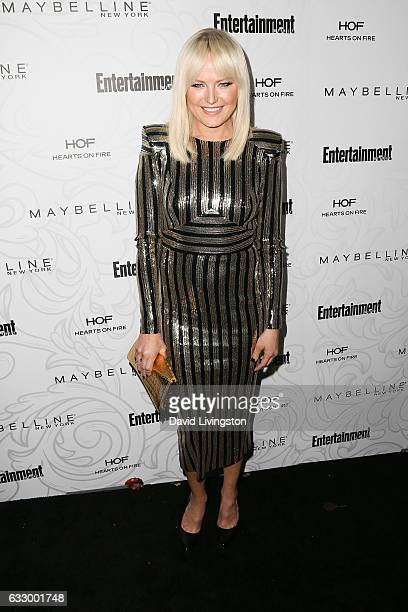 Actress Malin Akerman arrives at the Entertainment Weekly celebration honoring nominees for The Screen Actors Guild Awards at the Chateau Marmont on...