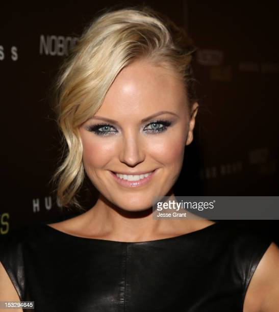 Actress Malin Akerman arrives at the Los Angeles premiere of 'Nobody Walks' at the ArcLight Hollywood on October 2 2012 in Hollywood California