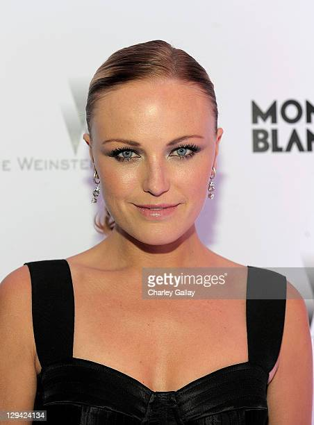 Actress Malin Akerman arrives at the Montblanc Cocktail Party cohosted by Harvey and Bob Weinstein celebrating the Weinstein Company's Academy Award...
