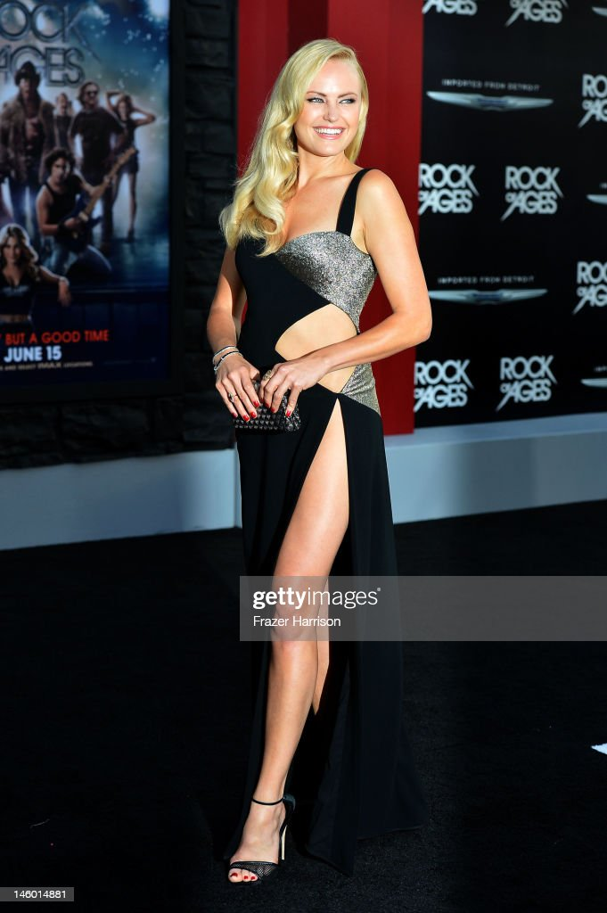 Actress Malin Akerman arrives at the premiere of Warner Bros. Pictures' 'Rock of Ages' at Grauman's Chinese Theatre on June 8, 2012 in Hollywood, California.