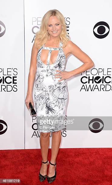 Actress Malin Akerman arrives during The 40th Annual People's Choice Awards at Nokia Theatre LA Live on January 8 2014 in Los Angeles California