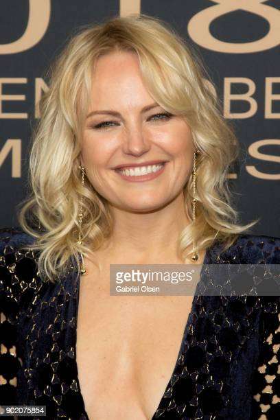 Actress Malin Akerman arrives for the Showtime Golden Globe Nominees Celebration at Sunset Tower on January 6 2018 in Los Angeles California