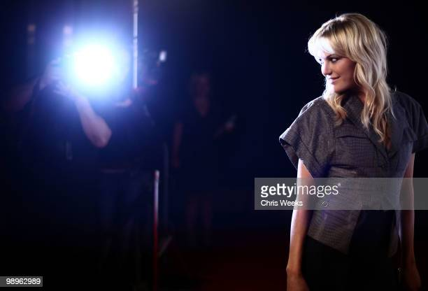 """Actress Malin Akerman attends a party for """"Haute & Bothered"""" Season 2 hosted by LG Mobile at the Thompson Hotel on May 10, 2010 in Beverly Hills,..."""