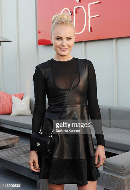 Actress Malin Akerman attends an evening of cocktails and shopping to benefit the Children's Defense Fund hosted by Coach held at Bad Robot on May 23...