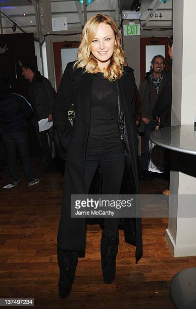 Actress Malin Akerman attends Day 2 of Grey Goose Blue Door at 449 Main St on January 21 2012 in Park City Utah