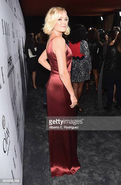 Actress Malin Akerman attends ELLE's 6th Annual Women in Television Dinner Presented by Hearts on Fire Diamonds and Olay at Sunset Tower on January...