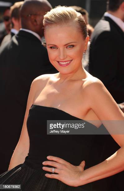 Actress Malin Akerman attends the 2013 Creative Arts Emmy Awards at Nokia Theatre L.A. Live on September 15, 2013 in Los Angeles, California.