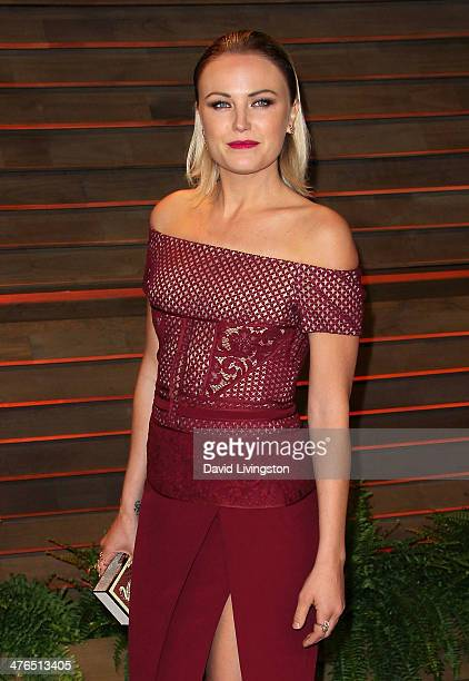 Actress Malin Akerman attends the 2014 Vanity Fair Oscar Party hosted by Graydon Carter on March 2 2014 in West Hollywood California
