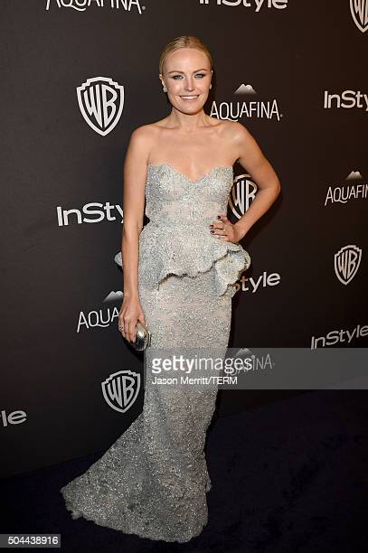 Actress Malin Akerman attends The 2016 InStyle And Warner Bros. 73rd Annual Golden Globe Awards Post-Party at The Beverly Hilton Hotel on January 10,...