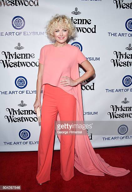 Actress Malin Akerman attends the Art of Elysium 2016 HEAVEN Gala presented by Vivienne Westwood Andreas Kronthaler at 3LABS on January 9 2016 in...