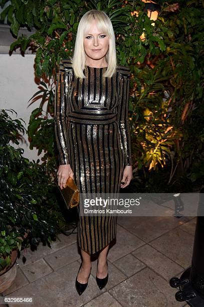 Actress Malin Akerman attends the Entertainment Weekly Celebration of SAG Award Nominees sponsored by Maybelline New York at Chateau Marmont on...