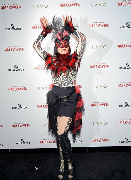 Fotos und Bilder von Heidi Klum Halloween Party - Arrivals | Getty ...