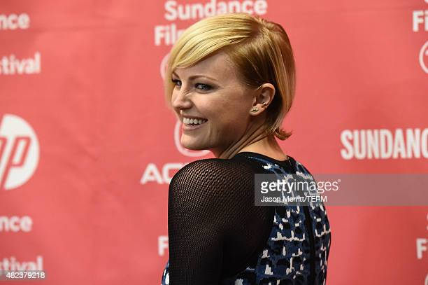 Actress Malin Akerman attends the 'I'll See You In My Dreams' premiere during the 2015 Sundance Film Festival on January 27 2015 in Park City Utah