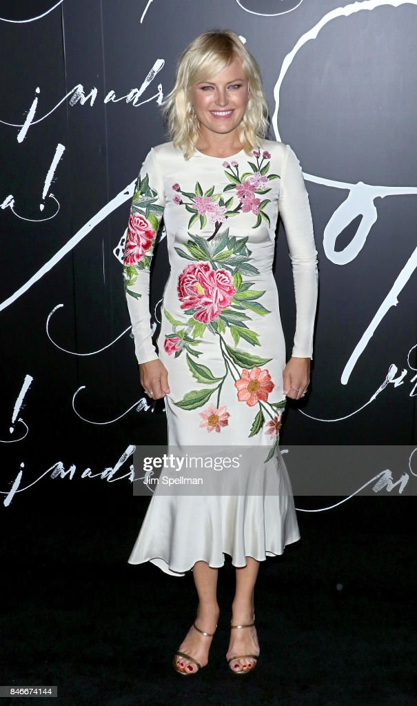 Actress Malin Akerman attends the 'mother!' New York premiere at Radio City Music Hall on September 13, 2017 in New York City.