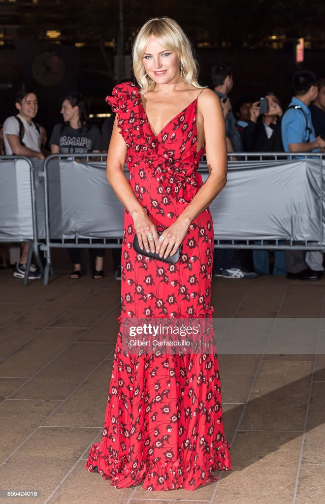 Actress Malin Akerman attends the New York City Ballet's 2017 Fall Fashion Gala at David H. Koch Theater at Lincoln Center on September 28, 2017 in New York City.
