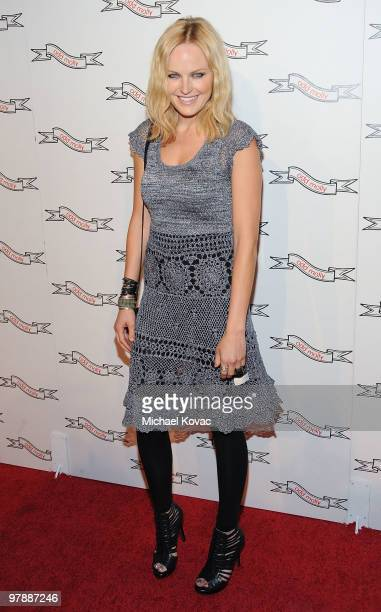 Actress Malin Akerman attends the opening celebration of the 'Odd Molly' boutique flagship store on March 19, 2010 in Beverly Hills, California.