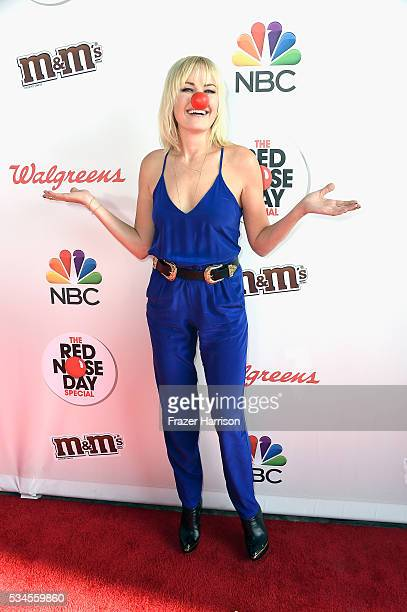 Actress Malin Akerman attends The Red Nose Day Special on NBC at Alfred Hitchcock Theater at Universal Studios on May 26 2016 in Universal City...
