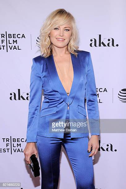 Actress Malin Akerman attends the 'The Ticket' Premiere during the 2016 Tribeca Film Festival at SVA Theatre 2 on April 16 2016 in New York City