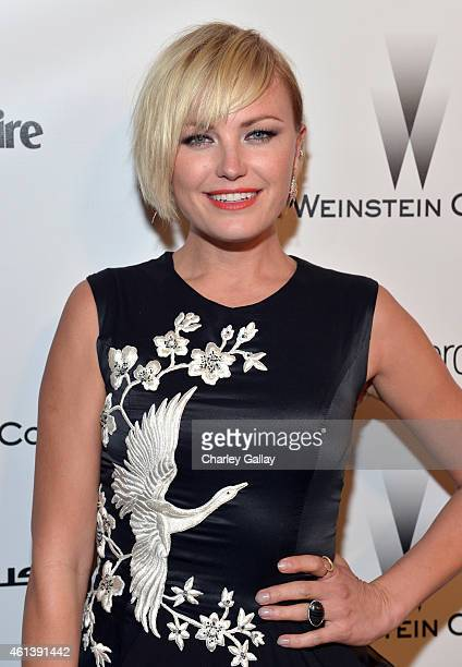 Actress Malin Akerman attends The Weinstein Company Netflix's 2015 Golden Globes After Party presented by FIJI Water Lexus Laura Mercier and Marie...