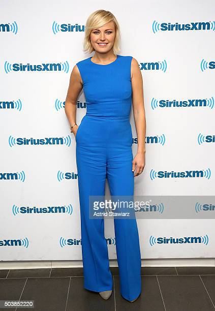 Actress Malin Akerman visits the SiriusXM Studios on January 7 2016 in New York City