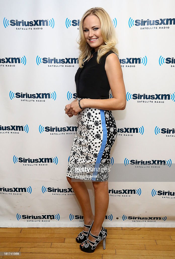 Actress Malin Akerman visits the SiriusXM Studios on September 24, 2013 in New York City.