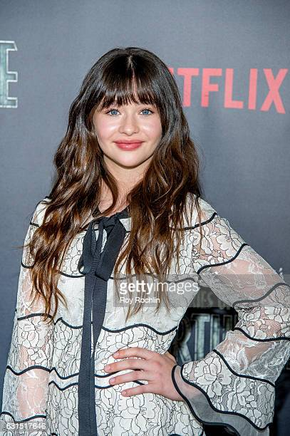 Actress Malina Weissman attends 'Lemony Snicket's A Series Of Unfortunate Events' New York Screening at AMC Lincoln Square Theater on January 11 2017...
