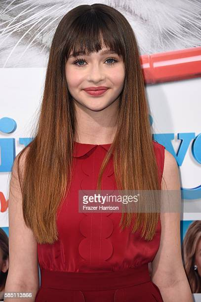Actress Malina Weissman attends the Premiere Of EuropaCorp's Nine Lives at TCL Chinese Theatre on August 1 2016 in Hollywood California