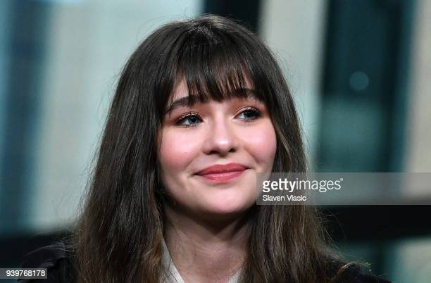 Actress Malina WeissmanÊvisits Build Series to discuss Netflix's series Lemony Snicket's A Series of Unfortunate Events at Build Studio on March 29...