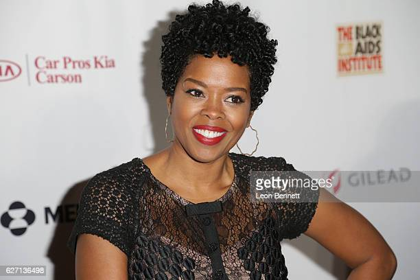 Actress Malinda Williams arrives at the Heroes In The Struggle Gala at Director's Guild Of America on December 1 2016 in West Hollywood California