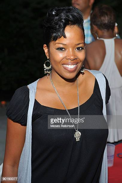 Actress Malinda Williams attends Terri J Vaughn's birthday party at a Private Residence on August 29 2009 in Atlanta Georgia