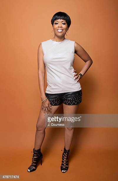 Actress Malinda Williams poses for a portrait at the American Black Film Festival on June 14 2015 in New York City