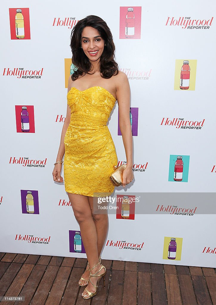Actress Mallika Sherawat attends the Hollywood Reporter honors Jodi Foster for 'The Beaver' hosted by vitaminwater at Z Plage vitaminwater on May 18, 2011 in Cannes, France.