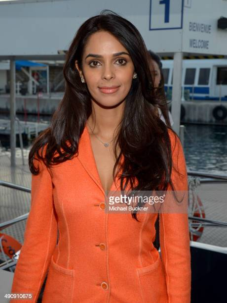 Actress Mallika Sherawat attends The India Party during the 67th Annual Cannes Film Festival on May 15 2014 in Cannes France