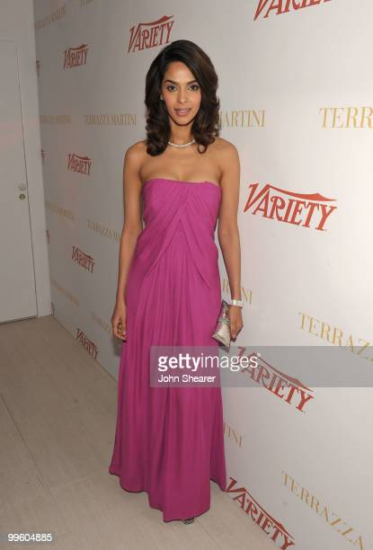 Actress Mallika Sherawat attends the Variety Celebrates Ashok Amritraj event held at the Martini Terraza during the 63rd Annual International Cannes...