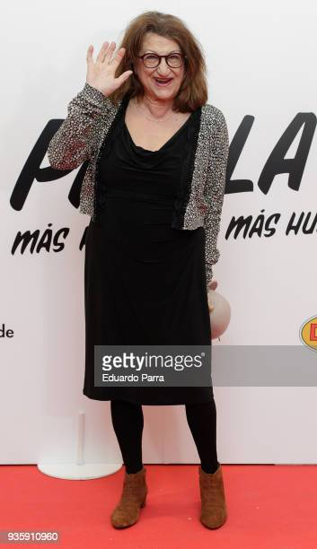 Actress Mamen Garcia attends the 'Paella today' premiere at Proyecciones cinema on March 21 2018 in Madrid Spain