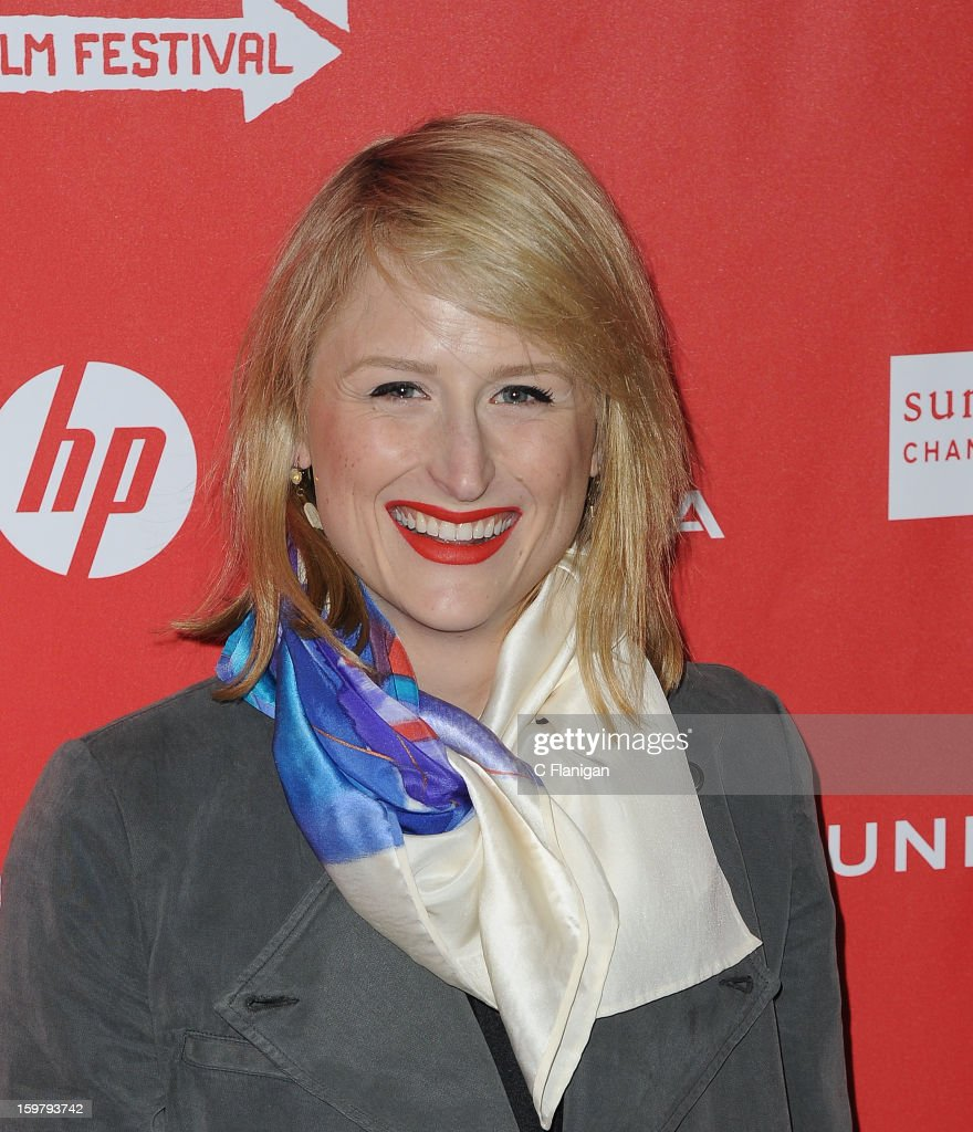 Actress Mamie Gummer arrives for 'The Lifeguard' Premiere at Library Center Theater on January 19, 2013 in Park City, Utah.