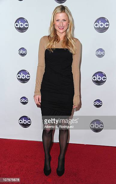 Actress Mamie Gummer arrives to Disney ABC Television Group's TCA Winter Press Tour on January 10 2011 in Pasadena California