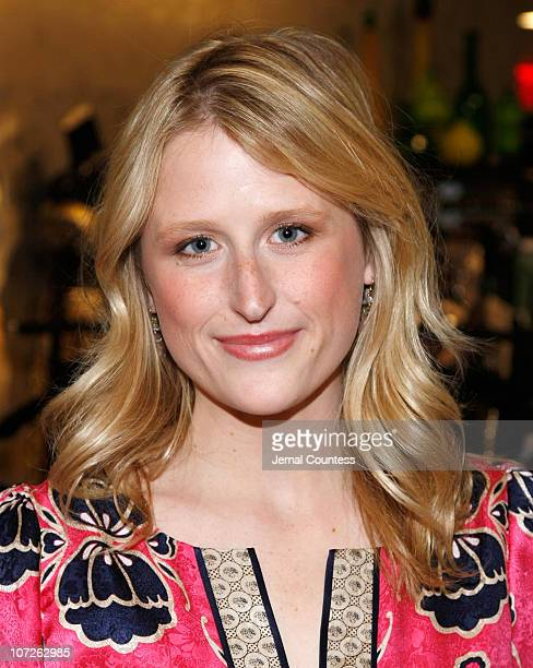 Actress Mamie Gummer at the Phoebe Couture Fall 2007 Dress Collection Cocktail Reception held at Bloomingdales on October 18 2007 in New York City
