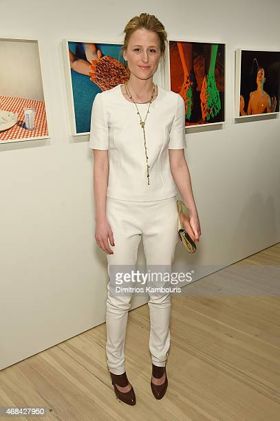 Actress Mamie Gummer attends Audi's Celebration of partnership with the Whitney Museum on April 2 2015 in New York City