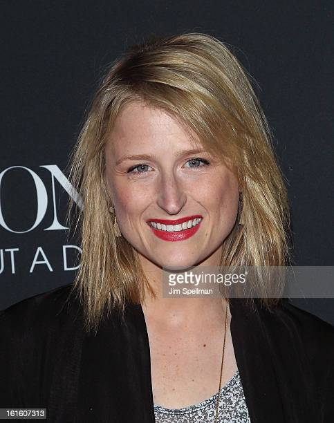 Actress Mamie Gummer attends 'Beyonce Life Is But A Dream' New York Premiere at Ziegfeld Theater on February 12 2013 in New York City