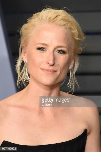 Actress Mamie Gummer attends the 2018 Vanity Fair Oscar Party hosted by Radhika Jones at the Wallis Annenberg Center for the Performing Arts on March...