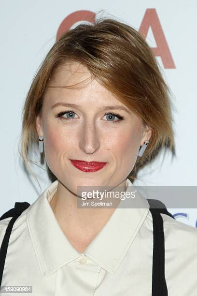 Actress Mamie Gummer attends the 'Cake' screening hosted by The Cinema Society Instyle at Tribeca Grand Hotel on November 16 2014 in New York City