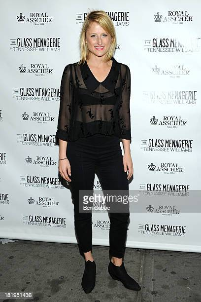 Actress Mamie Gummer attends 'The Glass Menagerie' Broadway Opening Night at Booth Theater on September 26 2013 in New York City