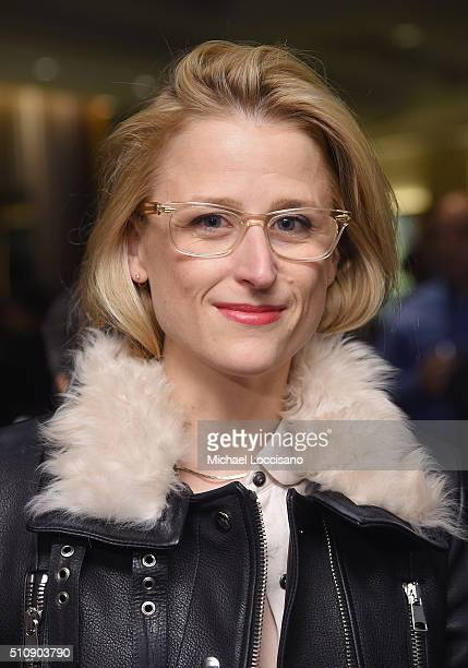 Actress Mamie Gummer attends the HBO screening of 'Becoming Mike Nichols' at HBO Theater on February 17 2016 in New York City