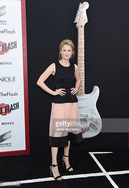 Actress Mamie Gummer attends the New York premier of 'Ricki And The Flash' at AMC Lincoln Square Theater on August 3 2015 in New York City