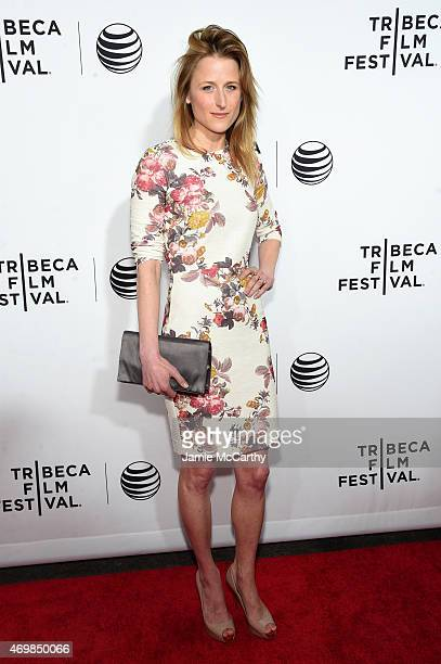 Actress Mamie Gummer attends the Opening Night premiere of Live From New York during the 2015 Tribeca Film Festival at the Beacon Theatre on April 15...