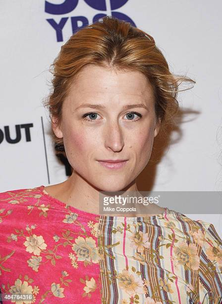Actress Mamie Gummer attends the 'Ugly Lies The Bone' Cast Photo Call at Roundabout Theatre Company Rehearsal Hall on August 21 2015 in New York City
