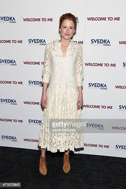 Actress Mamie Gummer attends the 'Welcome To Me' New York Premiere at the Sunshine Landmark on April 29 2015 in New York City