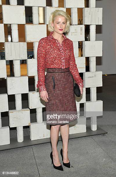 Actress Mamie Gummer wearing Bottega Veneta attends the Hammer Museum 14th Annual Gala In The Garden with generous support from Bottega Veneta at...